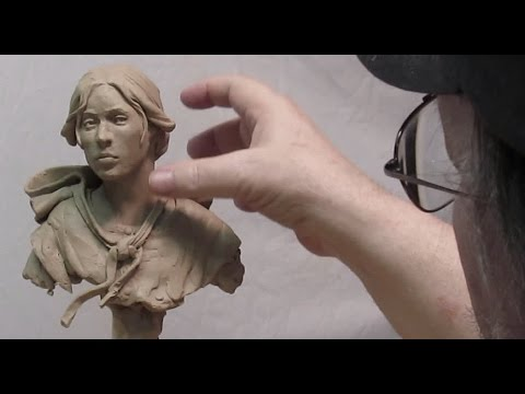 The Female Bust - Creating a mid 1800s Hair Style - Finished Today