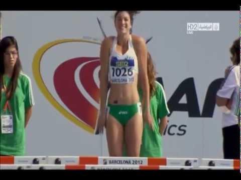 Sexy runner warmup