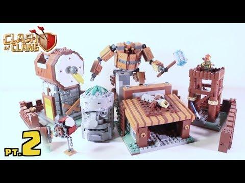 LEGO Clash Of Clans BUILDER BASE! (Part 2)