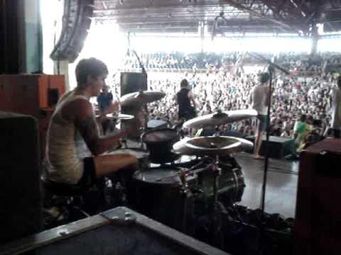 Bring Me The Horizon Drummer Matt Nicholls Youtube