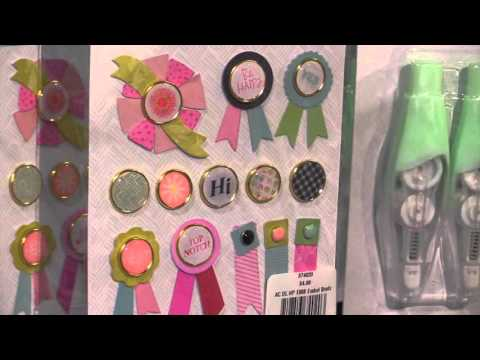 American Crafts - Dear Lizzy - Happy Place Collection - CHA 2016