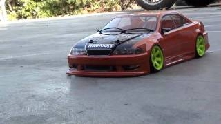 vuclip TRF416 Drift kit 60% CS testing stage and JZX100 Toyota Mark 2 body