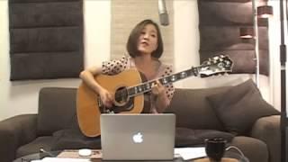 2013.11.3 森恵さんのUSTREAMライブより ・ギターカバーアルバム「Grace...