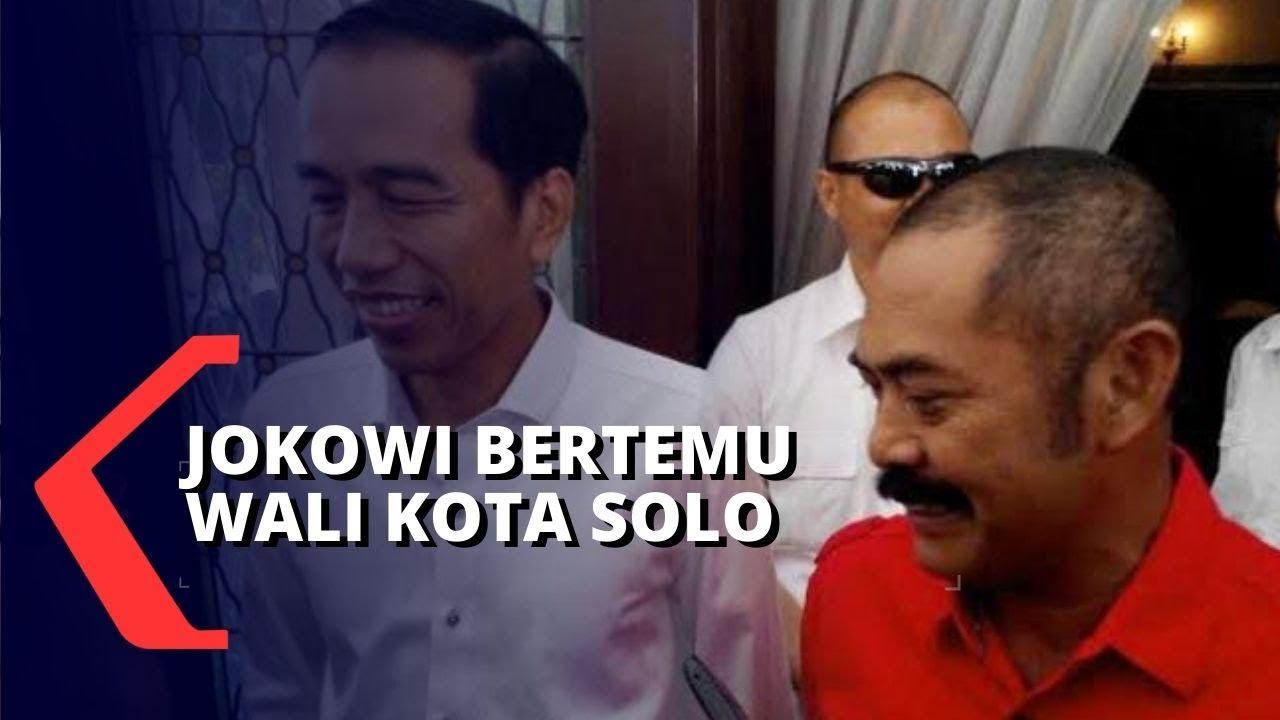 Download Bahas Solo, FX Hadi Rudyatmo Bertemu Presiden Jokowi
