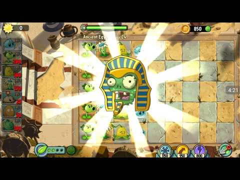 PLANT_vs.ZOMBIES_2!~||Ancient Egypt||~[Day 24]