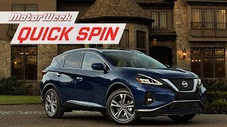 2019 Nissan Murano | Quick Spin