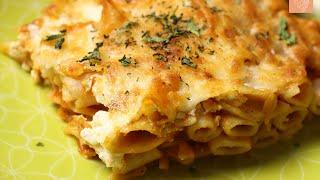 باستا بالقشطة | Pasta With Tomato Cream Sauce