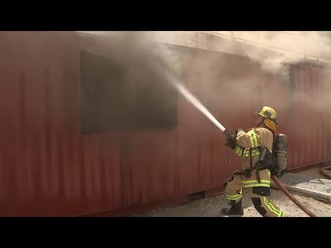 A glimpse into daily life of a San Bernardino County firefighter I ABC7 thumbnail