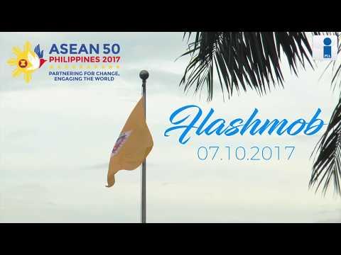 ASEAN 2017 Flashmob at Quezon City Hall Plaza