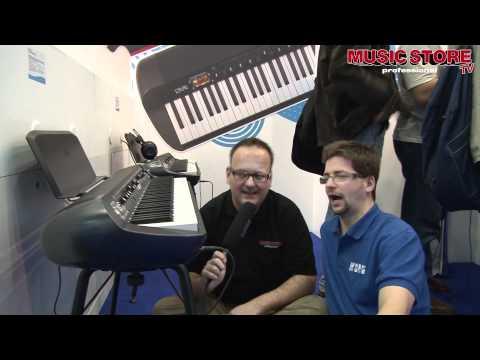 Musikmesse 2012 KORG Stage Vintage Piano SV-1 [deutsch]