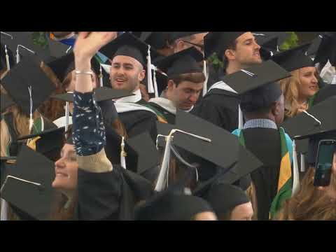 Lesley University Commencement 2018: Morning Ceremony