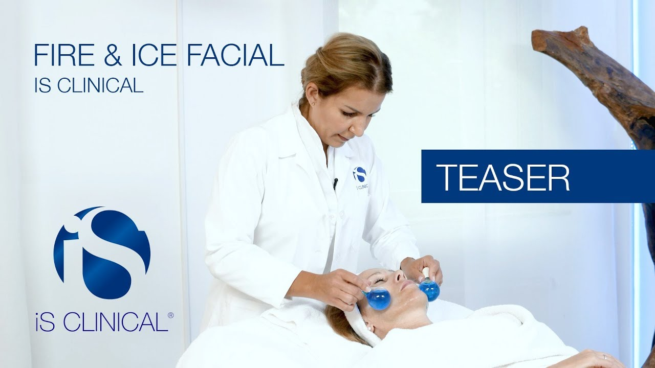 Fire & Ice Gesichtsbehandlung von iS Clinical – Teaser