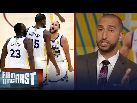 Nick Wright: 'Warriors are a lot of things, Organic isn't one of them' | NBA | FIRST THINGS FIRST
