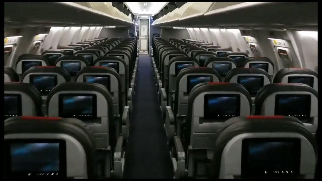 CABIN TOUR: **Brand New** American Airlines Boeing 737-800 with ...