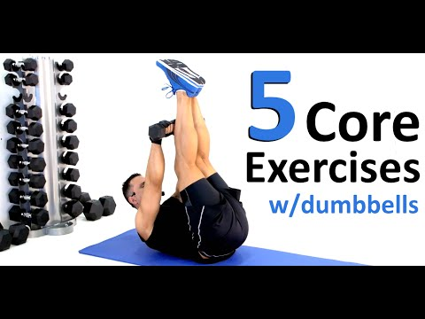 5 Basic Core Exercises Train Along With Coach Ali Weights Abs Training