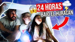 PASAMOS 24 HORAS BAJO el HURACÁN 😱 ¡NOS EVACÚAN DE LA CASA! | Familia Carameluchi