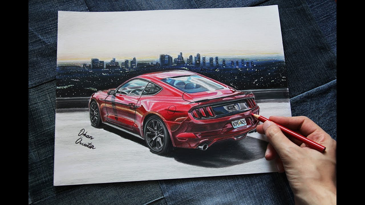 2017 ford mustang gt 5 0 episode 1 usa car drawing