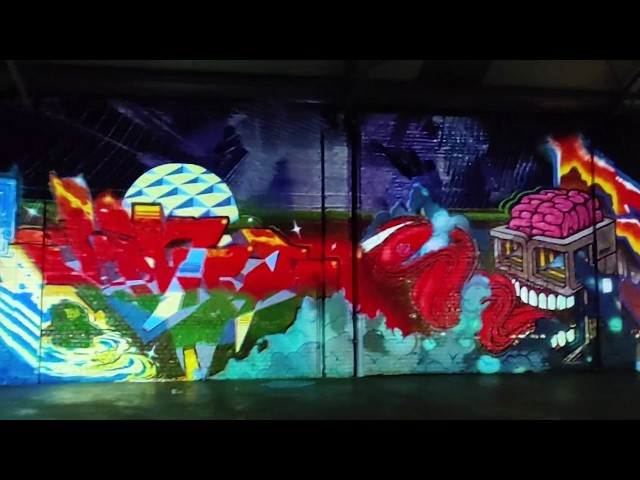 Graffiti mapping Jam