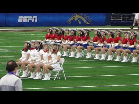 Kilgore College Rangerettes - 81st Cotton Bowl - 1/2/17 - Prop Routine