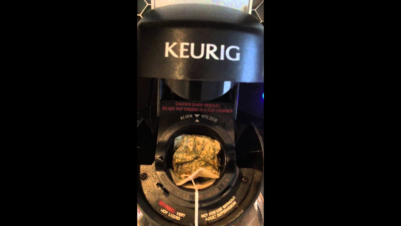 keurig how to make tea