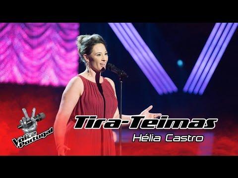 Hélia Castro – O mio babbino caro | Tira-Teimas | The Voice Portugal