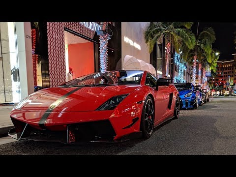 Lamborghini STS Causes CHAOS In BEVERLY HILLS!