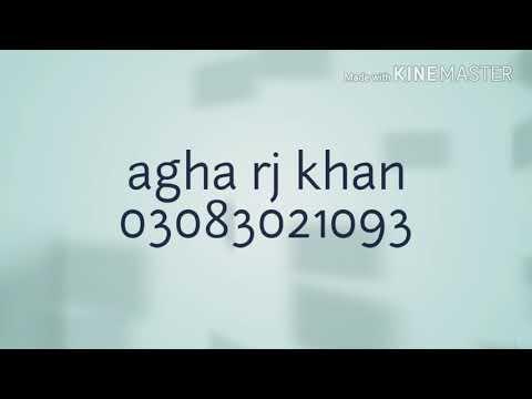 RJ Agha Khan sad Urdu poetry 2018 now
