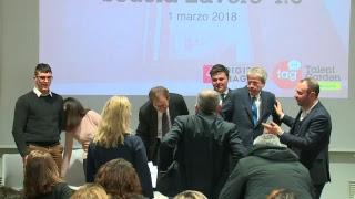 Il Presidente Gentiloni al Talent Garden Poste Italiane (01/03/2018)