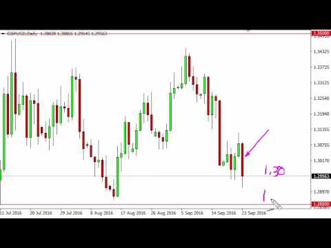 GBP/USD Technical Analysis for September 26 2016 by FXEmpire.com