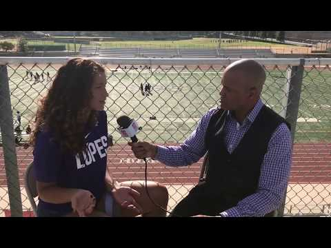 RAEANNE JONES INTERVIEW (PART 2) - CHINO HILLS KICKER/SOCCER PLAYER [LIVE HIGH SCHOOL FOOTBALL]