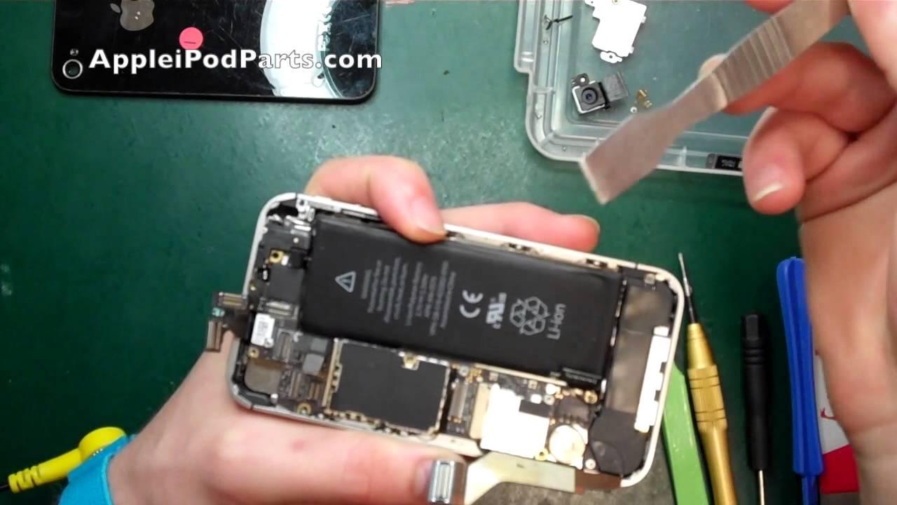 iphone 4s logic board swap replacement repair guide tutorial [ 1280 x 720 Pixel ]