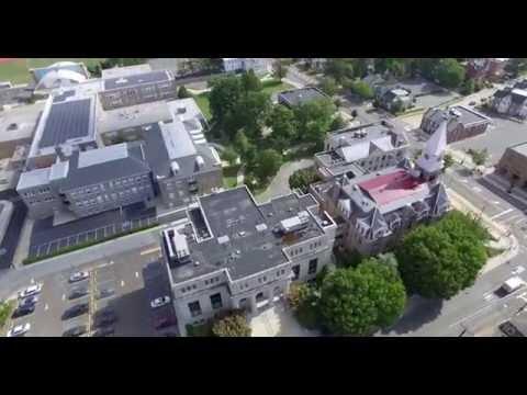 Aerial Tour Woodbury, NJ