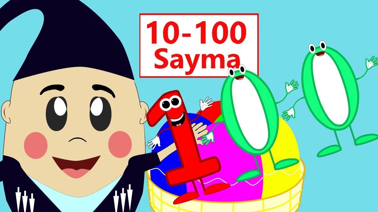 10 Ar 10 Ar Sayiyorum 10 Ar Ritmik Sayma Sayilari Ogreniyorum