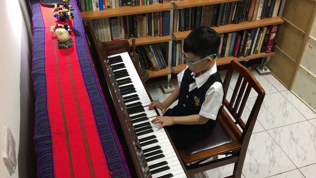2020蕭珠玉老師鋼琴學生 線上音樂會 曲目:遊戲 - YouTube
