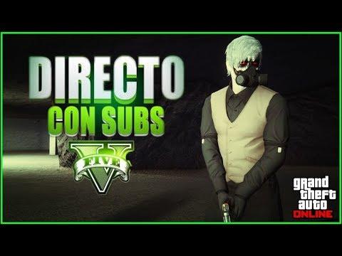 DIRECTO DE GTA V ONLINE   Entra si Estas solo Ahre    (Argentina) (Ps4)