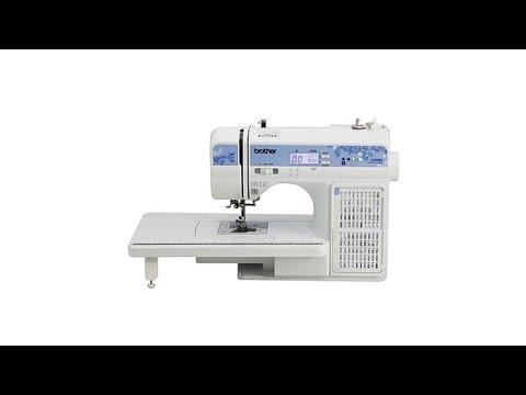 Brother 40Stitch Computerized Sewing Machine YouTube Enchanting Brother Computerized Sewing And Quilting Machine Hc7140