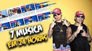 🔵 MC LAN LANÇA 7 MUSICAS EM 24 HORAS #NVI