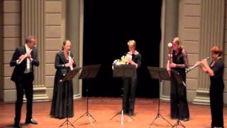 Amsterdam Wind Quintet: A. Dvorak: American Quartet: 1st movement: Allegro ma non troppo