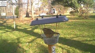 Paper Clip Mesh Cup Bird Feeder