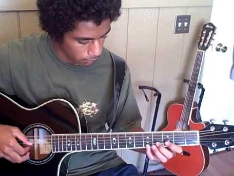 Moana Chimes Slack Key Guitar Acoustic Maui Style!