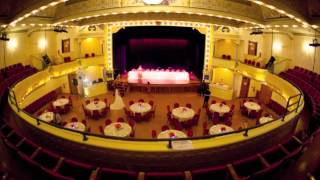 A Beautiful Setting for a Wedding & Private Events at City Opera House, Traverse City, Michigan