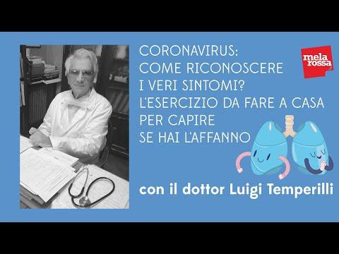 Coronavirus: come riconoscere i veri sintomi? L'esercizio da fare a casa per capire se hai l'affanno