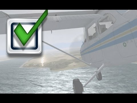 FSX Missions:  Flying Blind Across the Channel
