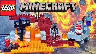 레고 마인크래프트 위더 21126 조립 과정 리뷰 Lego Minecraft The Wither 네더 요새의 결투
