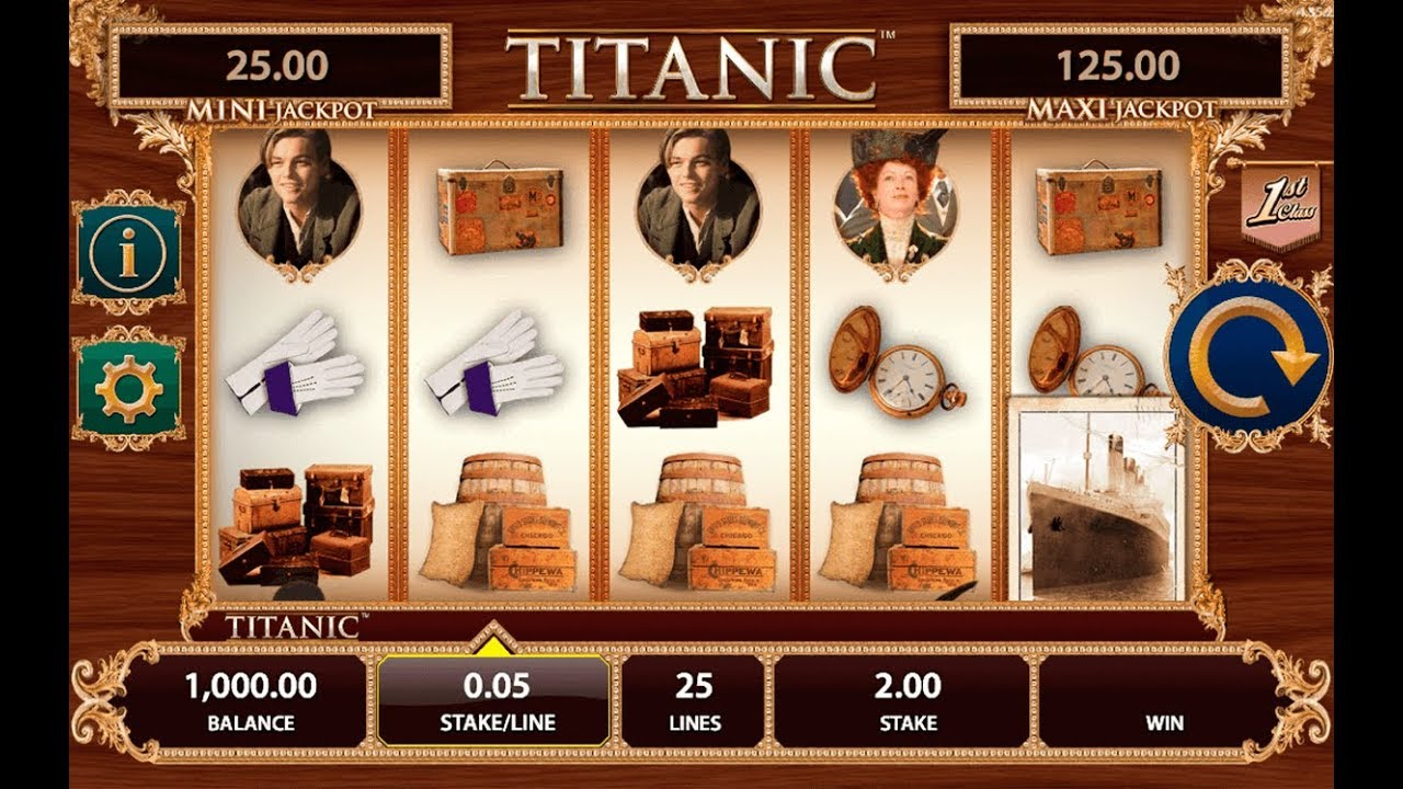 Titanic Slot Machine For Sale