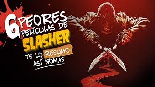 6 Slasher De Los 80 | Te Lo Resumo