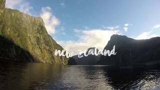 On My Way Around The World: New Zealand | GoPro Hero 3+