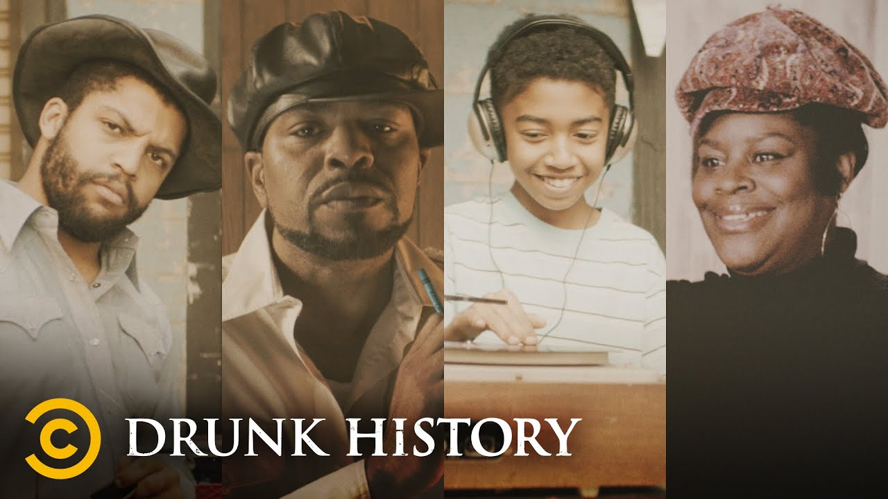 The Early Years of Hip-Hop (feat. Questlove & Method Man) - Drunk History