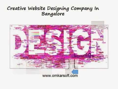 Creative Website Designing Company In Bangalore