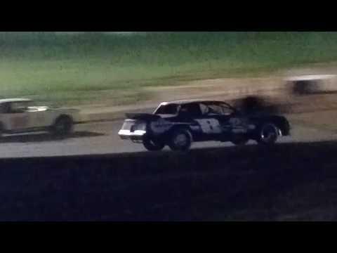 Brownstown Speedway 7-16-2016 Pure Stock B-Main Race